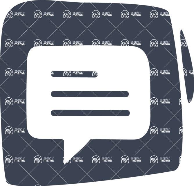 800+ Multi Style Icons Bundle - Free communication icon 6