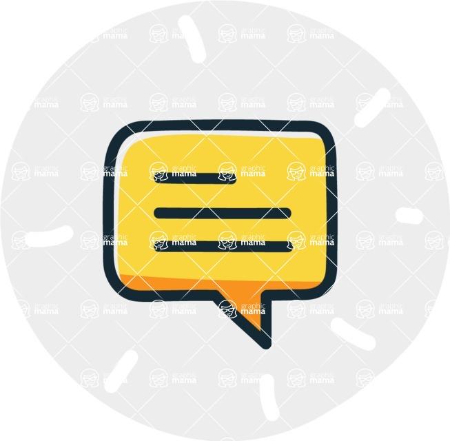 800+ Multi Style Icons Bundle - Free communication icon 7