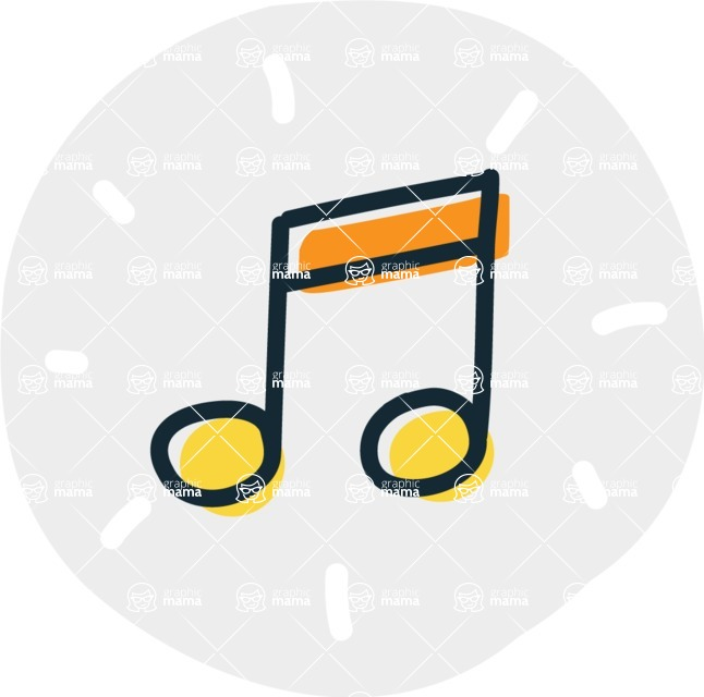 800+ Multi Style Icons Bundle - Free music icon 7