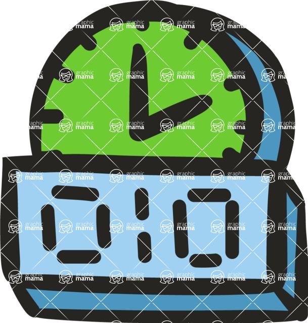 800+ Multi Style Icons Bundle - Free countdown icon 5