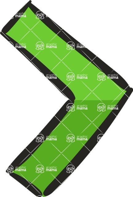 800+ Multi Style Icons Bundle - Free slide right icon 5