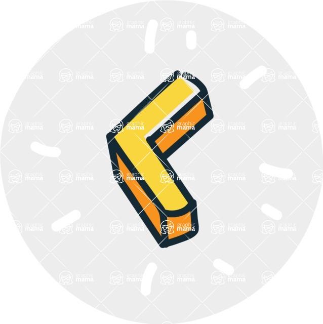 800+ Multi Style Icons Bundle - Free slide left icon 7