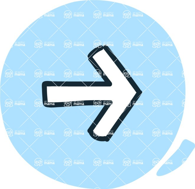 800+ Multi Style Icons Bundle - Free right arrow icon 3