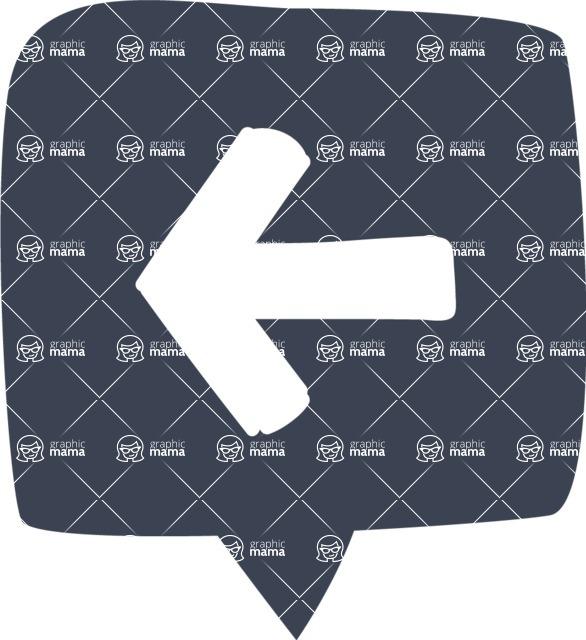 800+ Multi Style Icons Bundle - Free left arrow icon 6