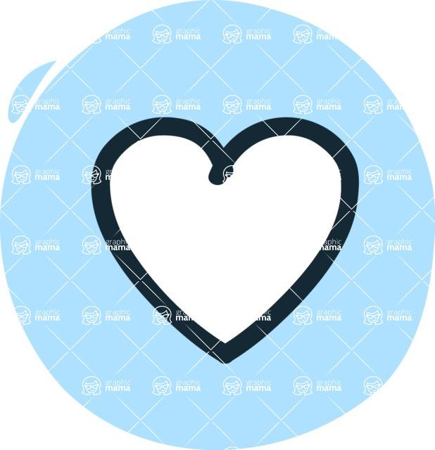 800+ Multi Style Icons Bundle - Free heart icon 3