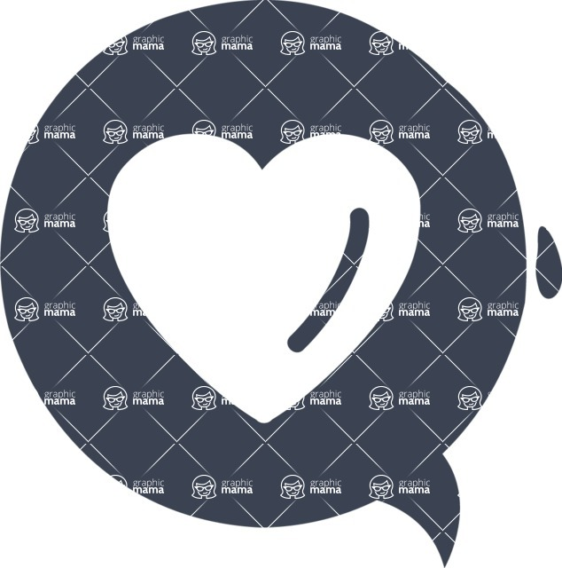 800+ Multi Style Icons Bundle - Free heart icon 6