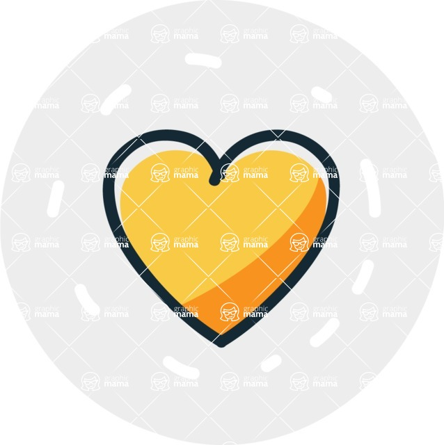 800+ Multi Style Icons Bundle - Free heart icon 7