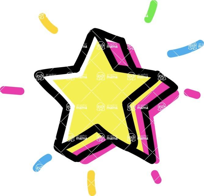 800+ Multi Style Icons Bundle - Free star icon 4