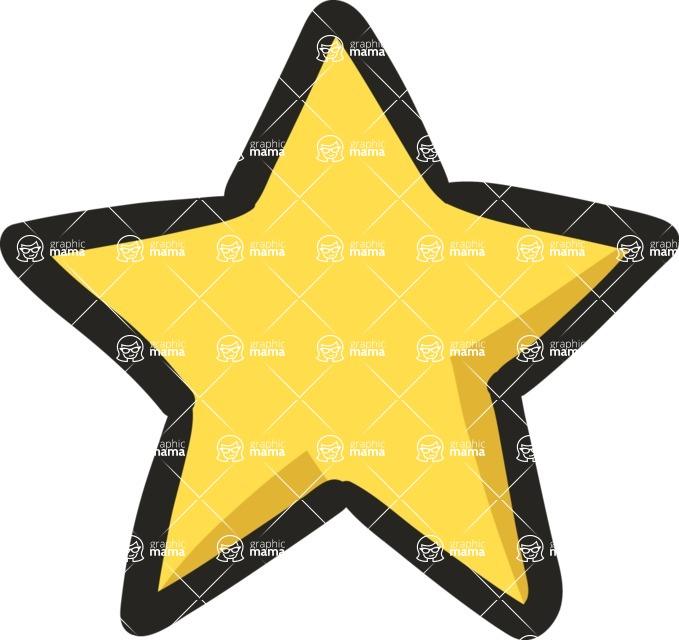 800+ Multi Style Icons Bundle - Free star icon 5