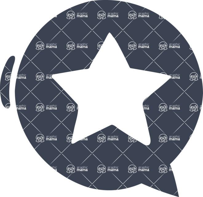 800+ Multi Style Icons Bundle - Free star icon 6