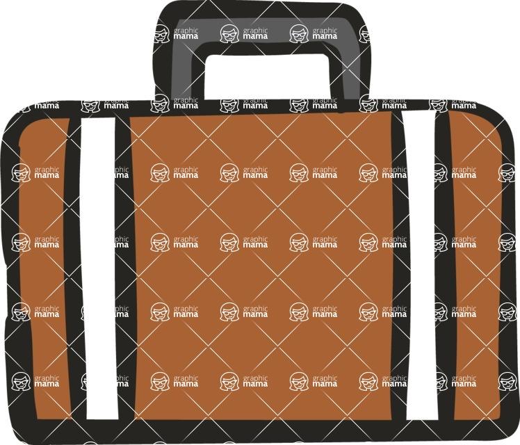 800+ Multi Style Icons Bundle - Free briefcase icon 5