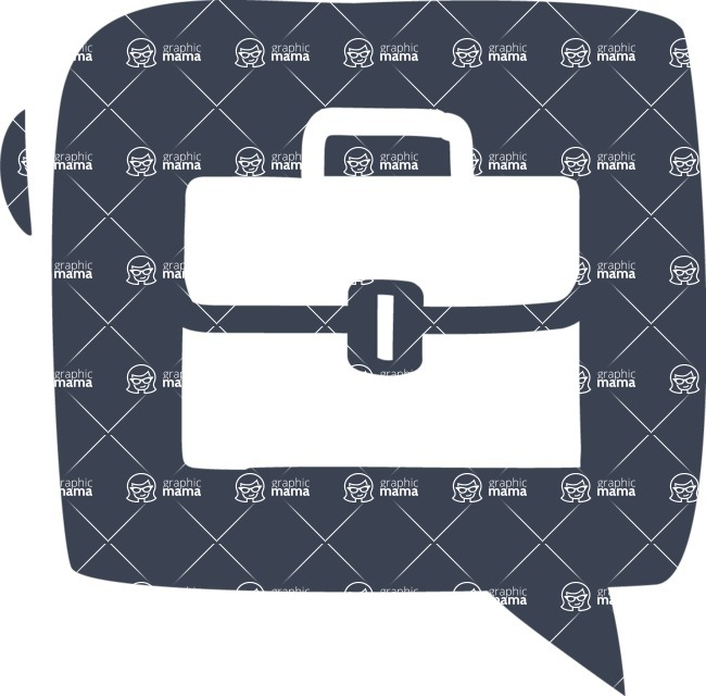800+ Multi Style Icons Bundle - Free briefcase icon 6