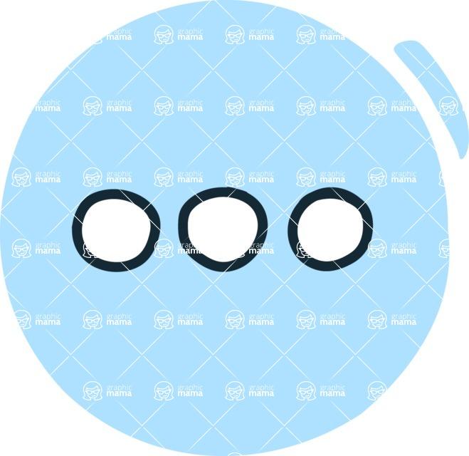800+ Multi Style Icons Bundle - Free dots icon 3