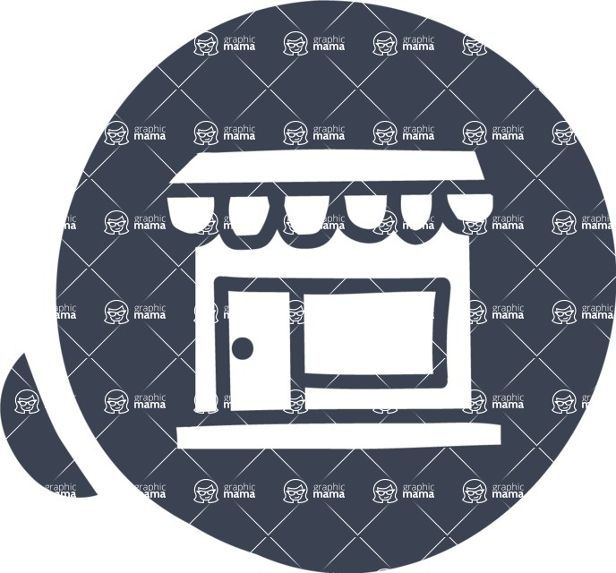 800+ Multi Style Icons Bundle - Free shop icon 6