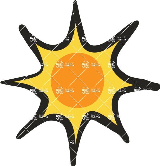 800+ Multi Style Icons Bundle - Free sun icon 5
