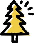 800+ Multi Style Icons Bundle - Free tree icon 2