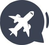 800+ Multi Style Icons Bundle - Free travel icon 6