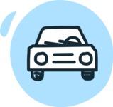 800+ Multi Style Icons Bundle - Free car icon 3