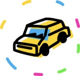 800+ Multi Style Icons Bundle - Free car icon 4
