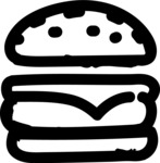 800+ Multi Style Icons Bundle - Free food icon - burger 1