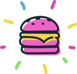 800+ Multi Style Icons Bundle - Free food icon - burger 4