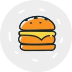 800+ Multi Style Icons Bundle - Free food icon - burger 7
