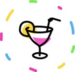800+ Multi Style Icons Bundle - Free drinks icon 4