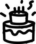 800+ Multi Style Icons Bundle - Free cake icon 1