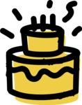 800+ Multi Style Icons Bundle - Free cake icon 2