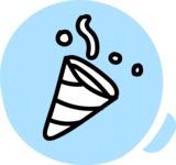 800+ Multi Style Icons Bundle - Free party icon 3