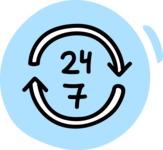 800+ Multi Style Icons Bundle - Free 24 7 non stop icon 3