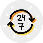 800+ Multi Style Icons Bundle - Free 24 7 non stop icon 7