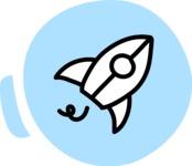 800+ Multi Style Icons Bundle - Free startup rocket icon 3