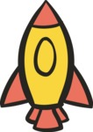 800+ Multi Style Icons Bundle - Free startup rocket icon 5