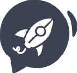 800+ Multi Style Icons Bundle - Free startup rocket icon 6