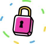 800+ Multi Style Icons Bundle - Free lock icon 4