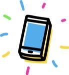 800+ Multi Style Icons Bundle - Free phone icon 4