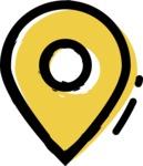 800+ Multi Style Icons Bundle - Free map pin icon 2
