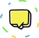 800+ Multi Style Icons Bundle - Free message icon 4
