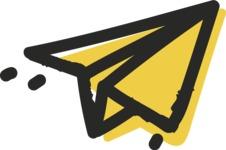 800+ Multi Style Icons Bundle - Free send icon 2