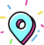 800+ Multi Style Icons Bundle - Free map pin icon 4