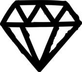 800+ Multi Style Icons Bundle - Free diamond icon 1
