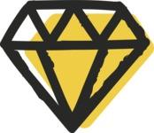 800+ Multi Style Icons Bundle - Free diamond icon 2
