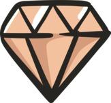 800+ Multi Style Icons Bundle - Free diamond icon 5