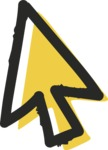 800+ Multi Style Icons Bundle - Free cursor icon 2