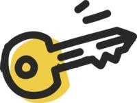 800+ Multi Style Icons Bundle - Free key icon 2