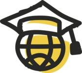 800+ Multi Style Icons Bundle - Free online education icon 2