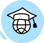 800+ Multi Style Icons Bundle - Free online education icon 3