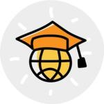 800+ Multi Style Icons Bundle - Free online education icon 7