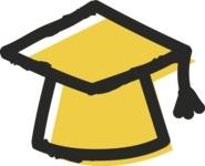 800+ Multi Style Icons Bundle - Free education icon 2